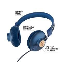 House Of Marley Positive Vibration 2.0 Denim Headphones w/Mic (hmv Exclusive) - 3
