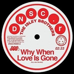 Why When Love Is Gone/Can't Hold the Feeling Back - 1