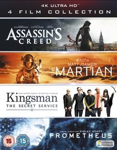 Assassin's Creed/The Martian/Kingsman/Prometheus - 1