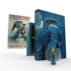 Pacific Rim Titans of Cult Limited Edition 4K Steelbook - 1
