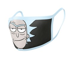 Rick And Morty: Rick Face Covering (2 pack) - 1