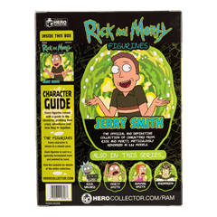 Jerry: Rick And Morty 1:16 Figurine With Magazine: Hero Collector - 3