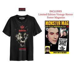 Hammer Horror: Hound of the Baskervilles: T-Shirt and Poster Magazine Set (Small) - 1