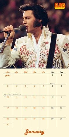 Elvis Collectors Edition Record Sleeve 2022 Calendar - 5