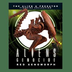 Red Xenomorph Alien Figurine: Hero Collector - 3