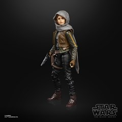 Jyn Erso Rogue One Star Wars Black Series Action Figure - 5