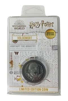 Voldemort: Harry Potter Limited Edition Coin - 3