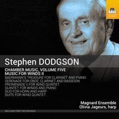 Stephen Dodgson: Chamber Music: Music for Winds II - Volume 5 - 1