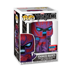 Venomized Magneto (683) Marvel Venom NYCC 2020 (hmv Exclusive) - 2