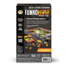 Funkoverse: Back To The Future - 100 Expandalone Strategy Game - 6