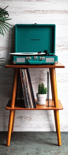 Crosley Cruiser Deluxe Teal Turntable - 3