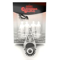 A Clockwork Orange Titans of Cult Limited Edition 4K Ultra HD Blu-ray Steelbook - 1