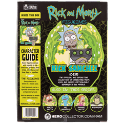 Rick: Rick and Morty Figurine: Hero Collector - 4
