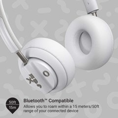 Jam Out There Grey Active Noise Cancelling Bluetooth Headphones - 3