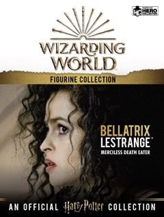 Bellatrix Lestrange: Harry Potter 1:16 Figurine With Magazine: Hero Collector - 5