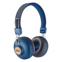 House Of Marley Positive Vibration 2 BT Denim Bluetooth Headphones - 1