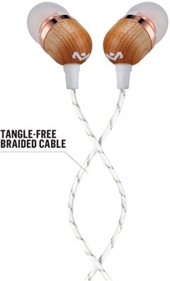 House Of Marley Smile Jamaica Copper Earphones W/Mic - 2