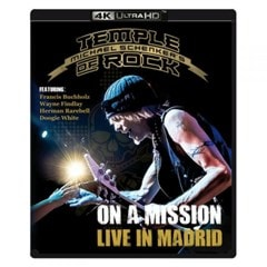 Michael Schenker's Temple of Rock: On a Mission - Live in Madrid - 1