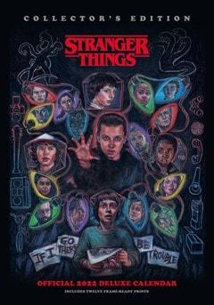 Stranger Things A3 Deluxe 2022 Calendar - 1