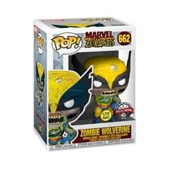 Zombie Wolverine (662) Marvel Zombies (hmv Exclusive) Glow in the Dark Pop Vinyl - 3