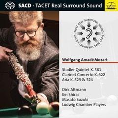 Wolfgang Amade Mozart: Stadler Quintet, K581/Clarinet Concerto... - 1