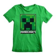 Minecraft Creeper: Face (Kids Tee) (3-4YR) - 1