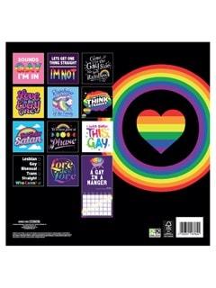 LGBTQ: Square 2022 Calendar - 3