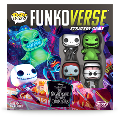 Funkoverse: The Nightmare Before Christmas Strategy Game (4 Pack) - 3