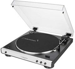 Audio Technica AT-LP60XBT White Bluetooth Turntable - 2