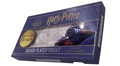 Harry Potter: Hogwarts Train Ticket Metal Replica (online only) - 2