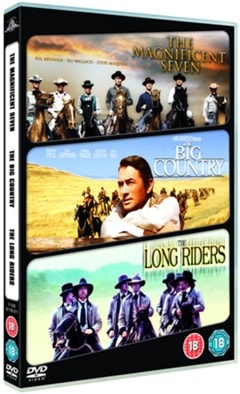 The Magnificent Seven/The Big Country/The Long Riders - 1