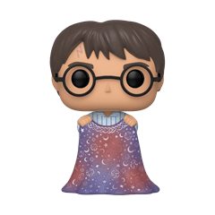 Harry with Invisibility Cloak (112) Harry Potter Pop Vinyl - 1