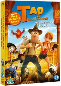 Tad the Lost Explorer and the Secret of King Midas - 2