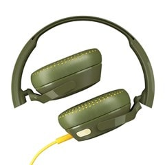 Skullcandy Riff Moss/Olive/Yellow Headphones - 2