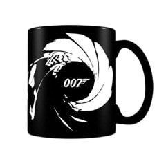 James Bond (Gunbarrel) Matte Heat Change Mug - 1