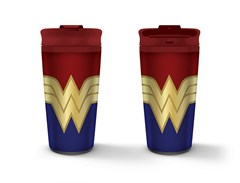 Wonder Woman: Strong Metal Travel Mug - 1
