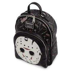 Friday the 13th: Jason Mask Mini Loungefly Backback - 3