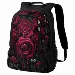 Blood Rose Backpack with Laptop Pocket - 1