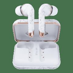 Happy Plugs Air1 Plus White Marble In Ear True Wireless Bluetooth Earphones - 2