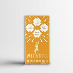 Wizards Magic Chocolate: 1% Sugar Original Gift Pack: Mint & Orange (Pack of 4) - 5
