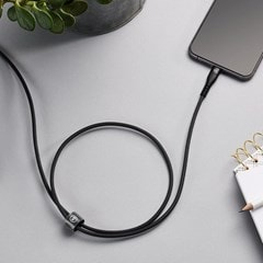 Mixx Charge Black Lightning Cable 3m - 4