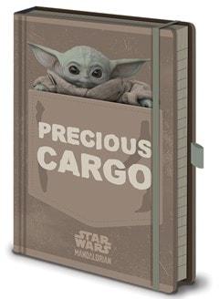 The Mandalorian: Precious Cargo Premium A5 Notebook - 2