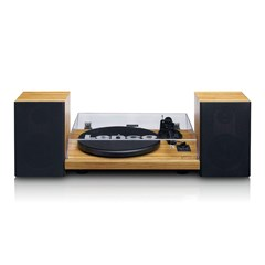 Lenco LS-500 Wood Turntable and Speakers - 3