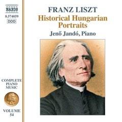 Franz Liszt: Historical Hungarian Portraits - 1