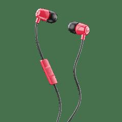 Skullcandy Jib Red/Black Earphones W/Mic - 1