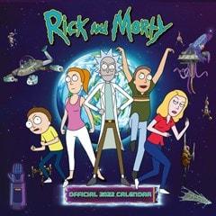 Rick & Morty Square 2022 Calendar - 1