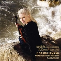 Dvorak: Violin Concerto/Suk: Fantasy  & Love Song - 1