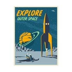 Explore Space Limited Edition Art Print - 1