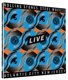 Steel Wheels Live - Atlantic City, New Jersey - Limited Edition Blue & Orange Vinyl - 3