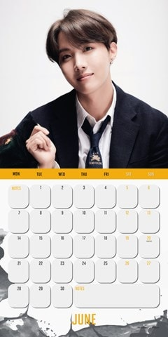 BTS: Square 2021 Calendar - 2
